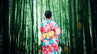 夏の日差しを程よく遮り、風通しが良い「竹のカーテン」。夏の猛暑対策はカーテンから変えてみる。