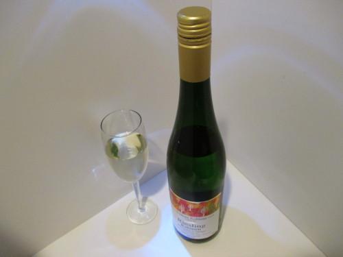 お酒が弱い人でもグイグイ飲めますが ガッチリ酔います。白ワイン 甘口微炭酸ワイン 「クリュースラーター・ザンクト ミヒャエル カビネット 」