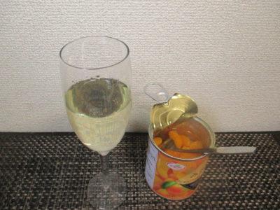 白ワイン 果物