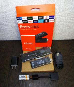 ファイアースティック 口コミ レビューFire TV Stick Alexa対応音声認識リモコン付属
