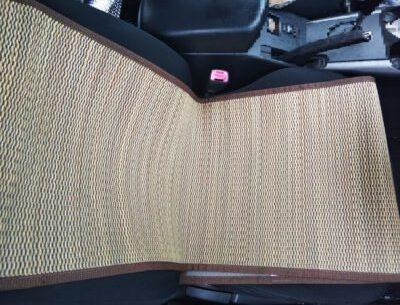 車 座席 蒸れる 背中 お尻 竹シート 蒸れ対策 蒸れないシート 安い